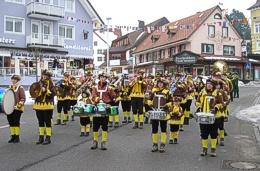 Die Stadtmusik Lenzkirch